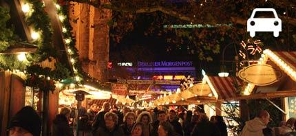 autovakantie kerstmarkt