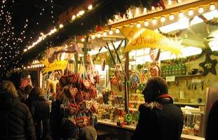lekkernijen op de kerstmarkt