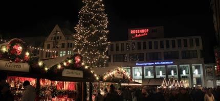 kerstmarkt plein