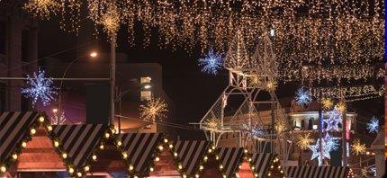 kerstmarkt verlichting in bremen
