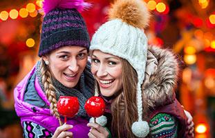 lekkernijen op de kerstmarkt aken