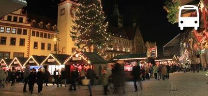 busreis naar kerstmarkt