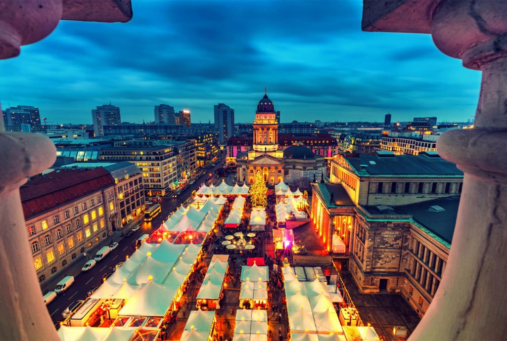berlijn kerstmarkt plein
