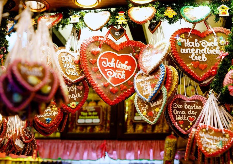 chocolade harten Kerstmarkt Munster